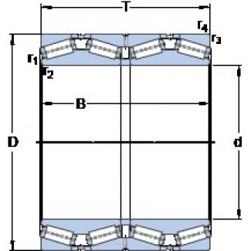 SKF BT4B 334031/HA4 tapered roller bearings
