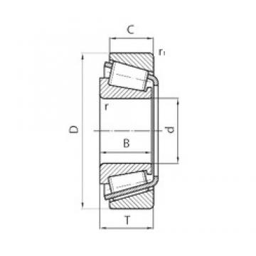 90 mm x 160 mm x 55 mm  SKF BT1-0513 tapered roller bearings