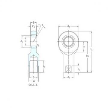 SKF SI15C plain bearings