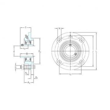 SKF FYC 30 TF bearing units