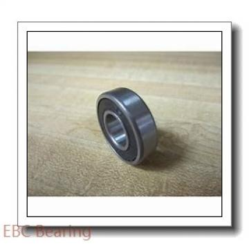 EBC 1605 ZZ  Single Row Ball Bearings