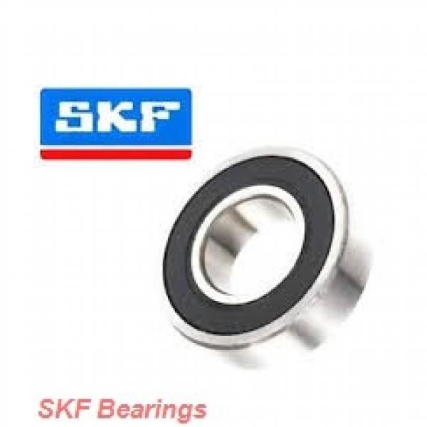 12 mm x 28 mm x 8 mm  SKF S7001 CD/P4A angular contact ball bearings #1 image