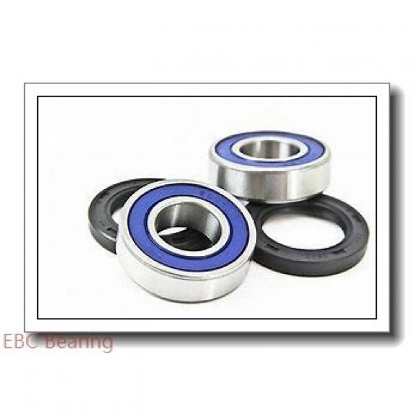 EBC 6017 2RS  Single Row Ball Bearings #1 image